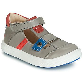 Chaussures Garçon Sandales et Nu-pieds GBB VORETO Gris / Bleu / Rouge