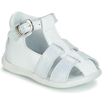 Chaussures Fille Sandales et Nu-pieds GBB GASTA Blanc / Argenté