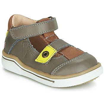 Chaussures Garçon Sandales et Nu-pieds GBB PORRO Gris / Marron