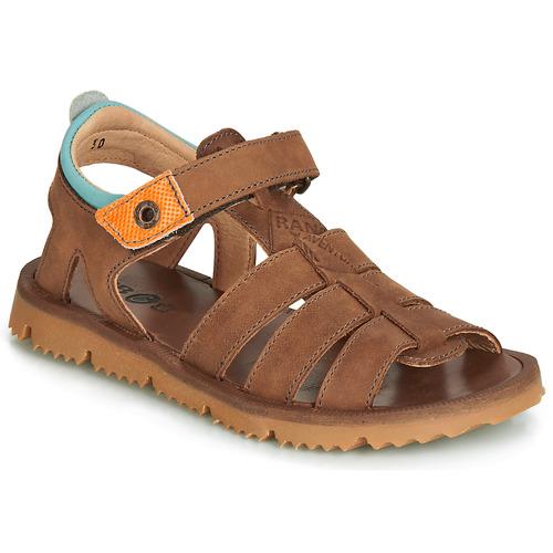 Chaussures Garçon Sandales et Nu-pieds GBB PATHE Marron