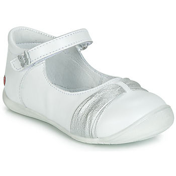 Chaussures Fille Ballerines / babies GBB MALLA Blanc
