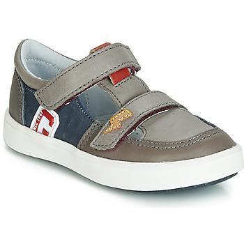 Chaussures Garçon Baskets basses GBB VARNO Gris / Marine