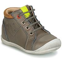 Chaussures Garçon Baskets montantes GBB TARAVI Gris