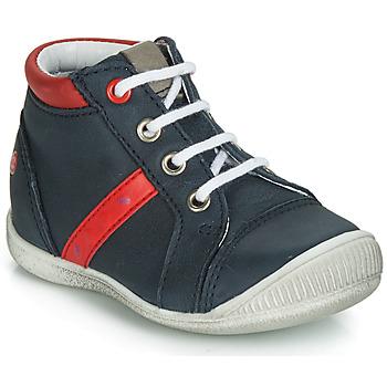 Chaussures Garçon Boots GBB TARAVI Marine / Rouge