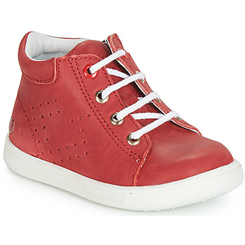 Chaussures Garçon Baskets montantes GBB FOLLIO Rouge
