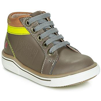 Chaussures Garçon Baskets montantes GBB QUITO Gris