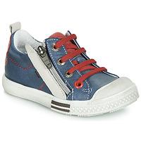 Chaussures Garçon Baskets basses GBB STELLIO Bleu / rouge