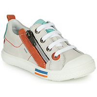 Chaussures Garçon Baskets basses GBB STELLIO VTE CRAIE-ORANGE DPF/LUCKY