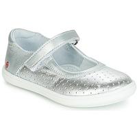 Chaussures Fille Ballerines / babies GBB PLACIDA Argenté