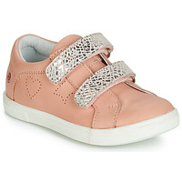 Chaussures Fille Baskets basses GBB BALOTA VTE ROSE-ARGENT DPF/TRILLY