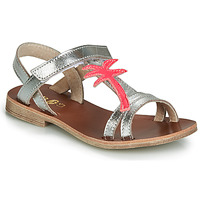 Chaussures Fille Sandales et Nu-pieds GBB SAPELA Argenté / rose