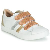 Chaussures Fille Baskets basses GBB MADO Blanc / Doré