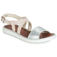 Chaussures Fille Sandales et Nu-pieds GBB ADRIANA Rose / Argenté