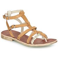 Chaussures Fille Sandales et Nu-pieds GBB NOVARA Cognac / Doré