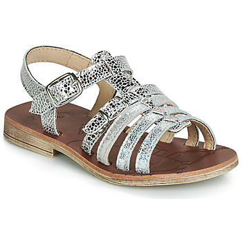 Chaussures Fille Sandales et Nu-pieds GBB BANGKOK VTE ARGENT DPF/COCA
