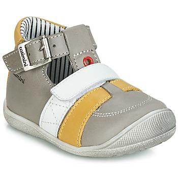 Chaussures Garçon Sandales et Nu-pieds Catimini TIMOR Gris / Moutarde