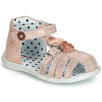 Chaussures Fille Sandales et Nu-pieds Catimini VANUA Rose gold