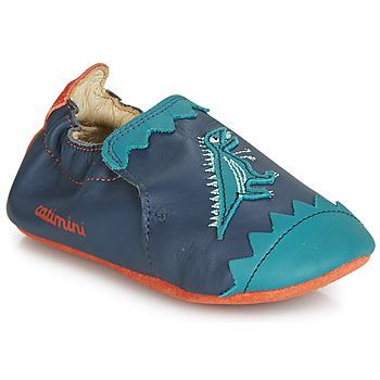 Chaussures Garçon Chaussons Catimini CADANO Marine / Orange