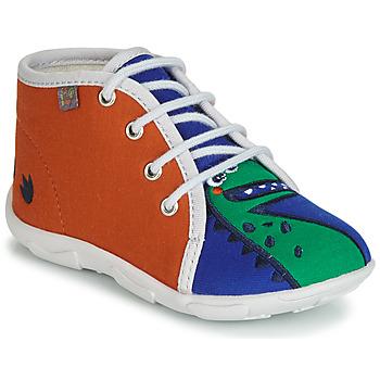 Chaussures Garçon Chaussons GBB MARCCO Orange / bleu