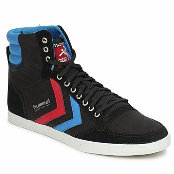 Basket montante Hummel TEN STAR HIGH CANVAS Noir / Bleu / Rouge