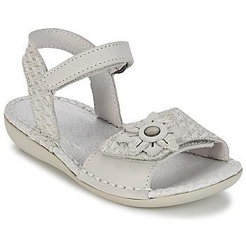 Chaussures Air max tnFille Sandales et Nu-pieds Kickers EVANA Blanc cassé