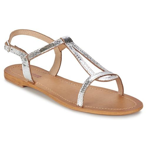 Chaussures Femme Sandales et Nu-pieds Les Tropéziennes par M Belarbi HAMAT Argent / Serpent