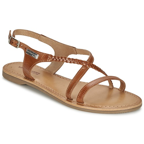 Chaussures Femme Sandales et Nu-pieds Les Tropéziennes par M Belarbi HANANO Tan