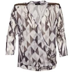 Vêtements Femme Tops / Blouses One Step CREPUSCULE Gris / Blanc