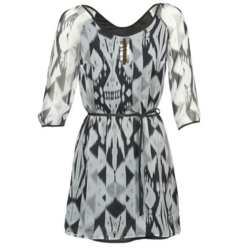 Vêtements Femme Robes courtes One Step ROSASITE Gris / Blanc