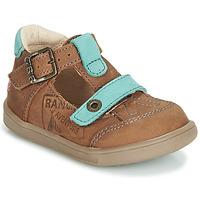 Chaussures Garçon Sandales et Nu-pieds GBB AREZO Marron / Bleu