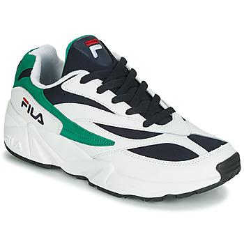Chaussures Homme Baskets basses Fila VENOM LOW Blanc / Vert