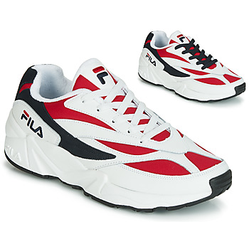 Chaussures Homme Baskets basses Fila VENOM LOW Blanc / Rouge