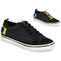 Chaussures Homme Baskets basses Diesel D-VELOWS LOW PATCH Noir
