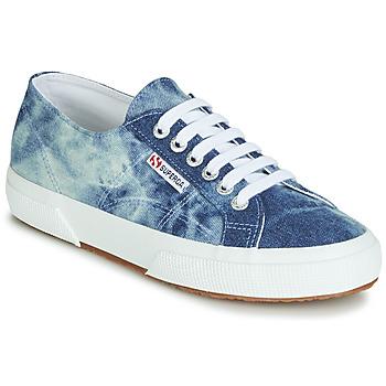 Chaussures Baskets basses Superga 2750 TIE DYE DENIM Bleu