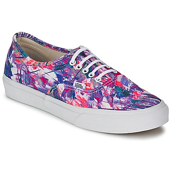 Chaussures Femme Baskets basses Vans AUTHENTIC SLIM Violet