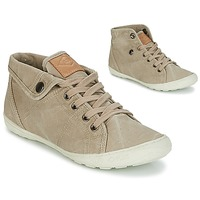 Chaussures Femme Baskets montantes PLDM by Palladium GAETANE Savane