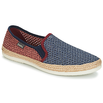 Chaussures Homme Espadrilles Bamba By Victoria ANDRE ELASTICOS REJILLA BICO Bleu / Rouge