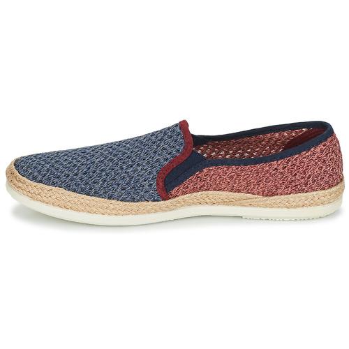 Bamba By Victoria ANDRE ELASTICOS REJILLA BICO Bleu / Rouge - Chaussure pas cher avec- Chaussures Espadrilles Homme 4299 YGRDmS81