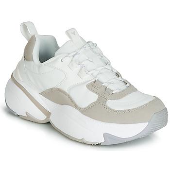 Victoria DEPORTIVO PU CONTRASTE Blanc Chaussures Baskets