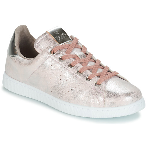 Chaussures Femme Baskets basses Victoria 1125185 ROSE metal