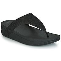 Chaussures Femme Tongs FitFlop LOTTIE GLITZY Noir