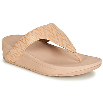 Chaussures Femme Tongs FitFlop LOTTIE CHEVRON SUEDE Rose