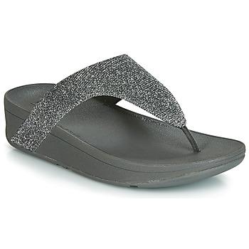 Chaussures Femme Tongs FitFlop LOTTIE GLITZY Argenté