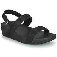 Chaussures Femme Mules FitFlop LOTTIE GLITZY BACKSTRAP SANDAL Noir