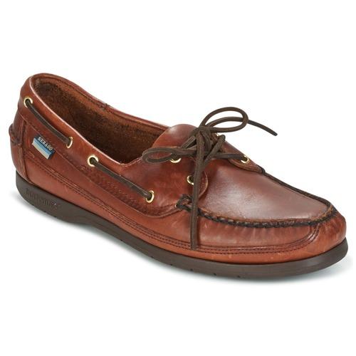 Chaussures Homme Chaussures bateau Sebago SCHOONER Marron