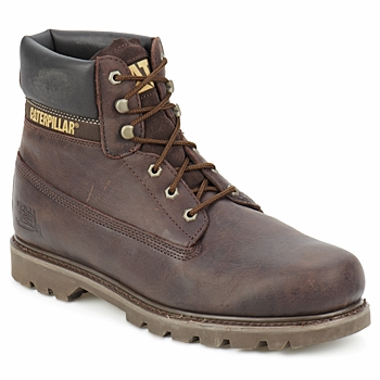 Chaussures Homme Boots Caterpillar COLORADO Chocolat