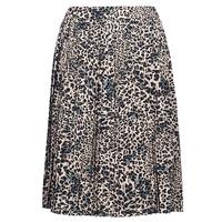 Vêtements Femme Jupes Betty London J.WILD TIME Beige / Noir