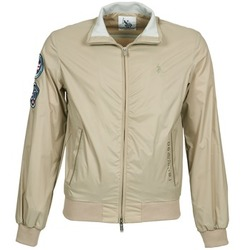 Vêtements Homme Blousons U.S Polo Assn. PLAYER Beige