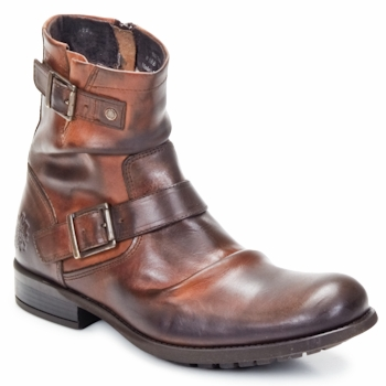 Chaussures Homme Boots Base London METAL Tan