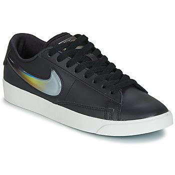 Chaussures Femme Baskets basses Nike BLAZER LOW LX W Noir / Argent